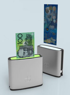 Innovia Systems - Bank note scanner